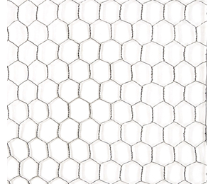 "Poultry Wire 1"" Hex Mesh GAW (Chicken Wire)"