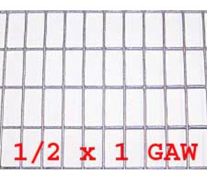 "1/2"" x 1"" 16 gauge GAW Wire Mesh Roll 100 ft. long"