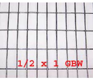 "1/2"" x 1"" 16 gauge GBW Wire Mesh Roll 100 ft. long"