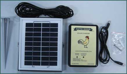 Solar Kit for Automatic Chicken Coop Door