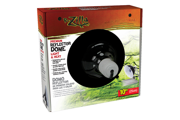 Zilla Ceramic Clamp Domes Black