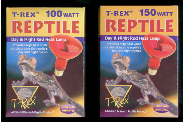 Infrared Heat Bulbs by T-Rex