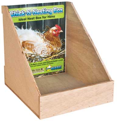 Chick-N-Nesting Box by Ware Mfg.