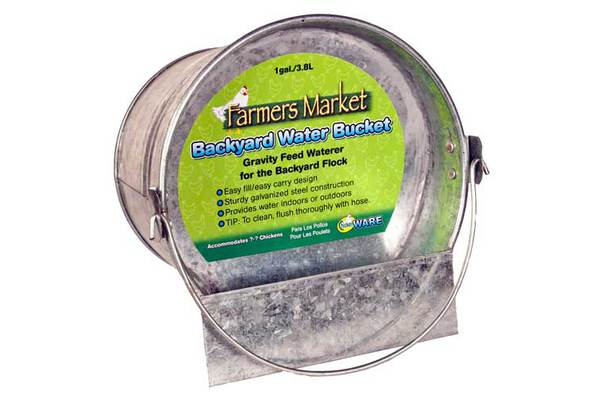 Farmers Market Backyard Water Bucket by Ware Mfg.