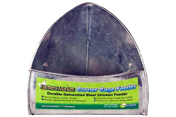 Farmers Market Corner Cage Feeder by Ware Mfg.