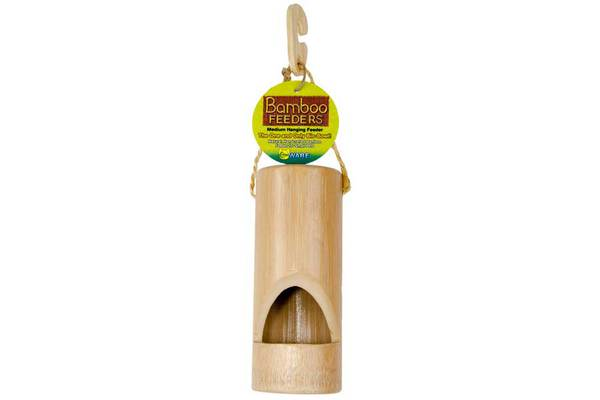 Bamboo Hanging Feeder by Ware Mfg. - Click Image to Close