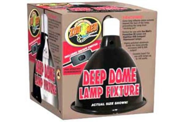ZooMed Deep Dome Clamp Lamp